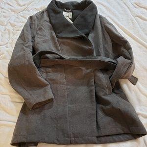 A New Day Gray Pea Coat